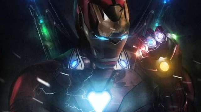 Ironman with infinity stones