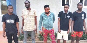 Nigeria robbers