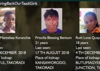 The three kidnaps taadi girls
