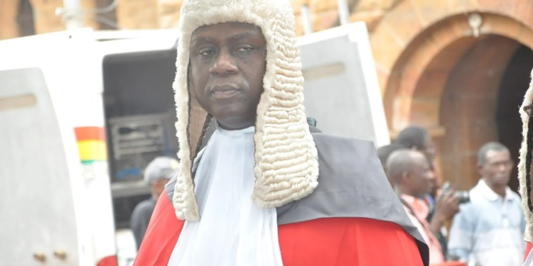 Chief Justice, Justice Anin Yeboah is Ghana's  new Chief Justice