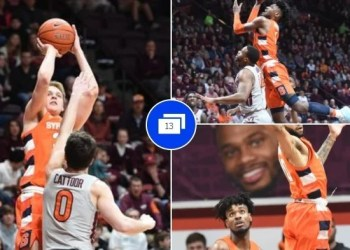 Syracuse Outshines Virginia Tech in the paint game