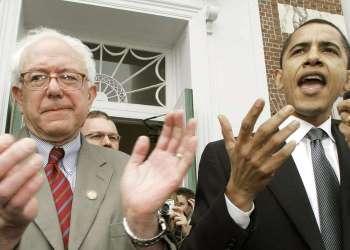 When Bernie Sanders Almost Primaried Barack Obama