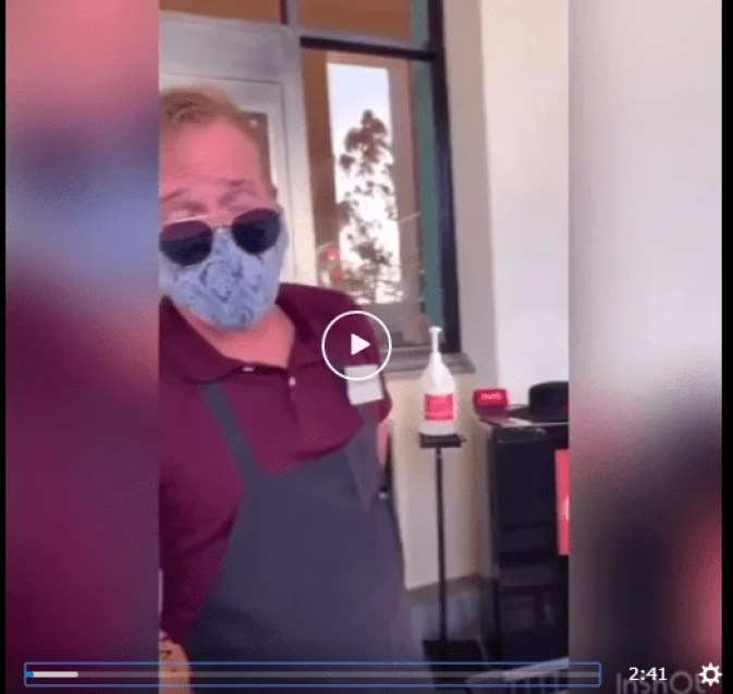 Video: Karen gets angry for being denied shopping without a mask