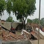 Kanpur Police Attack: विकास ने जिस बुलडोजर से रोका था रास्ता पुलिस ने उससे ध्वस्त किया किले जैसा घर