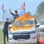ज्योतिरादित्य सिंधिया ने पुलिस की गाड़ी का किया था प्रयोग, चुनाव आयोग को सरकार का जवाब