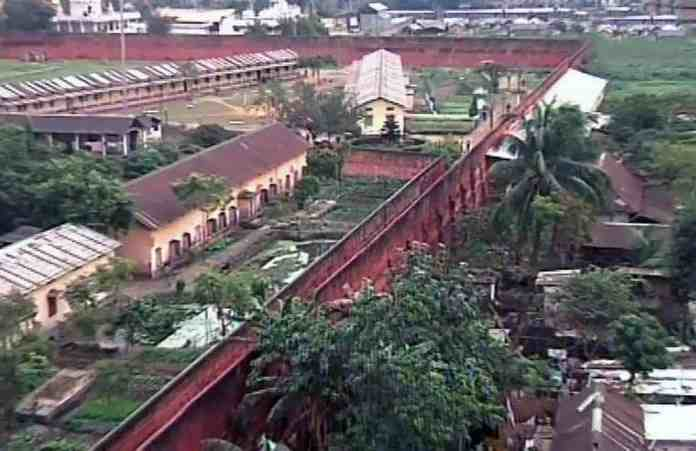 File photo of the old Central Jail campus in Fancy Bazar, Guwahati. The Assam government has decided to develop a botanical garden in the campus.