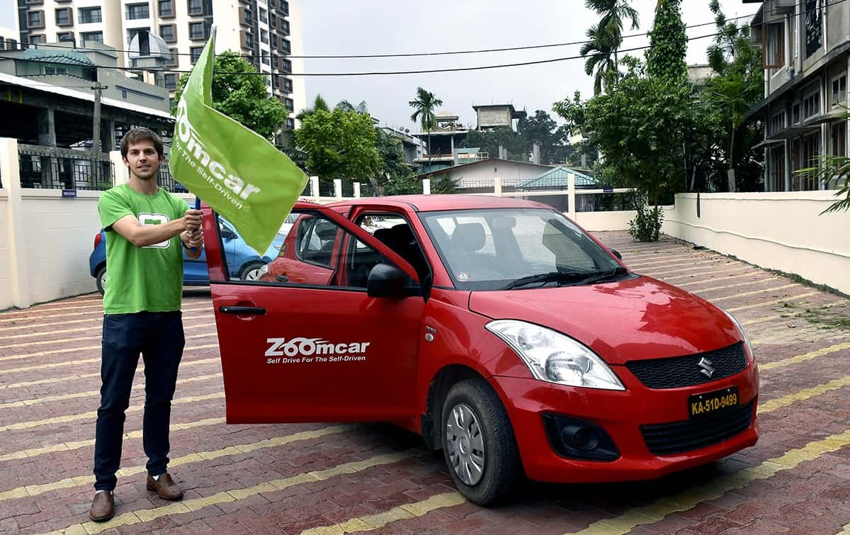 self-drive car rental zoomcar offers vehicles for travel across