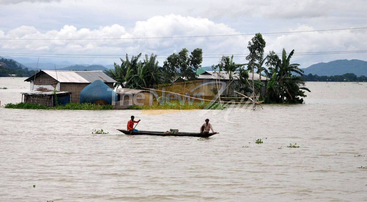 Over 1.75 Million People Affected By Ongoing Floods In India's Assam