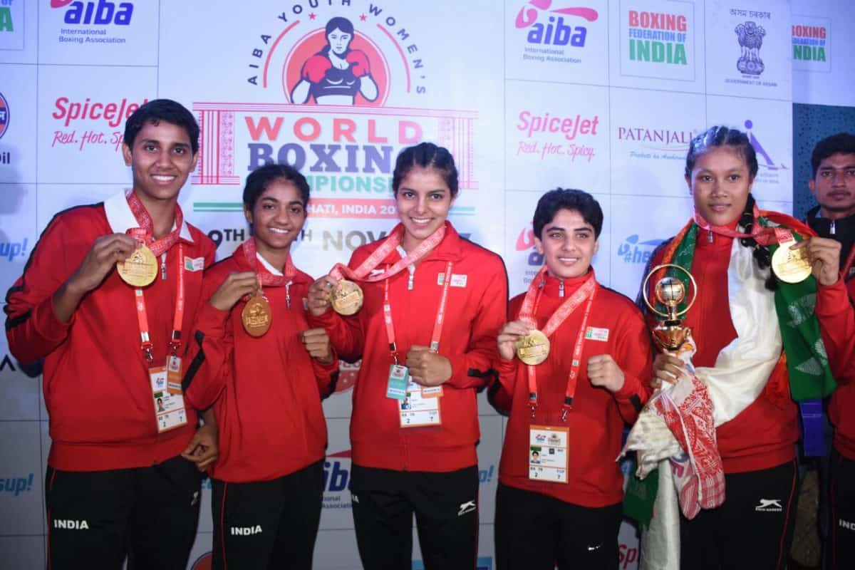 India reigns with five golds
