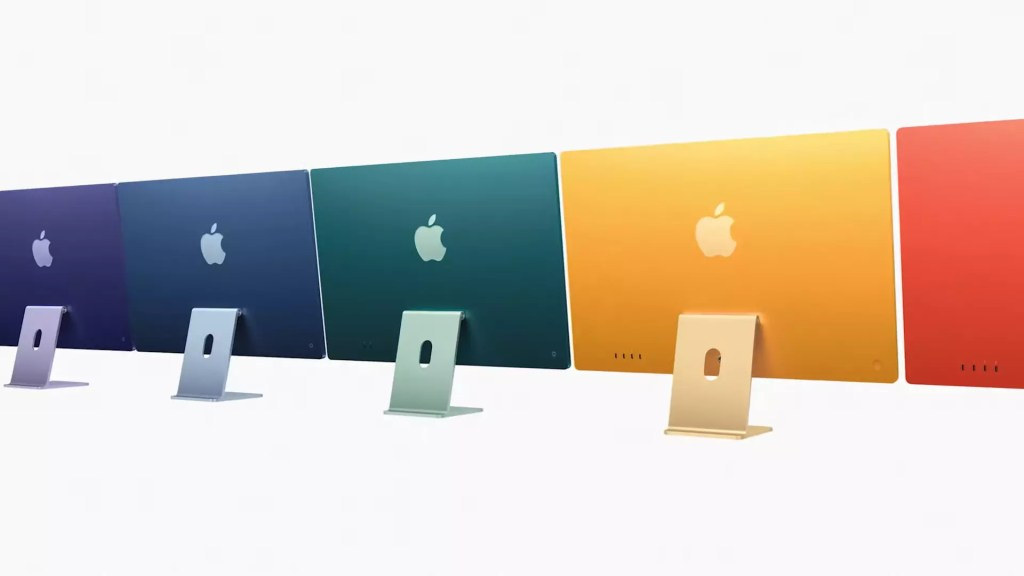 Apple confirms shipping of 24-inch iMac, M1 iPad Pro will begin in May