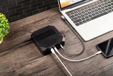 Gadge Hub is a 100W GaN Charger & 9-in-1 SSD Hub for $99