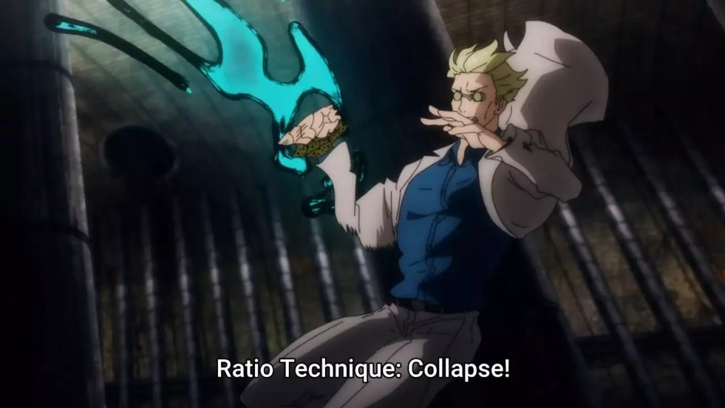 Kento Nanami Cursed Technique Ratio – Jujutsu Kaisen Discussion