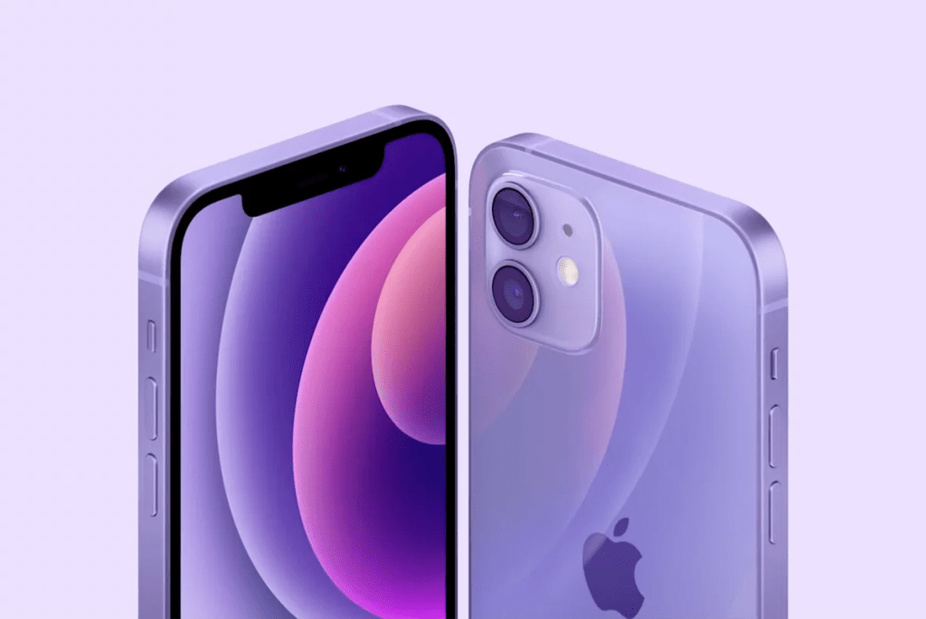 New iPhone 12 and 12 mini color
