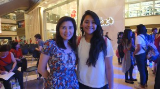 with Ms. Jubilee Ong, SFF Organizer