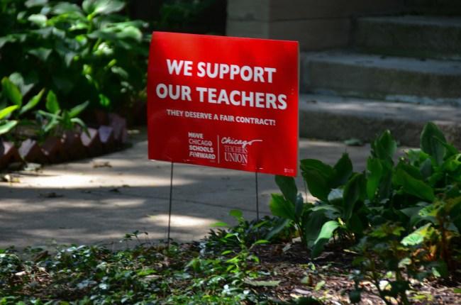 teacher's strike