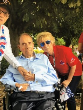 Hanging out with Bob Dole