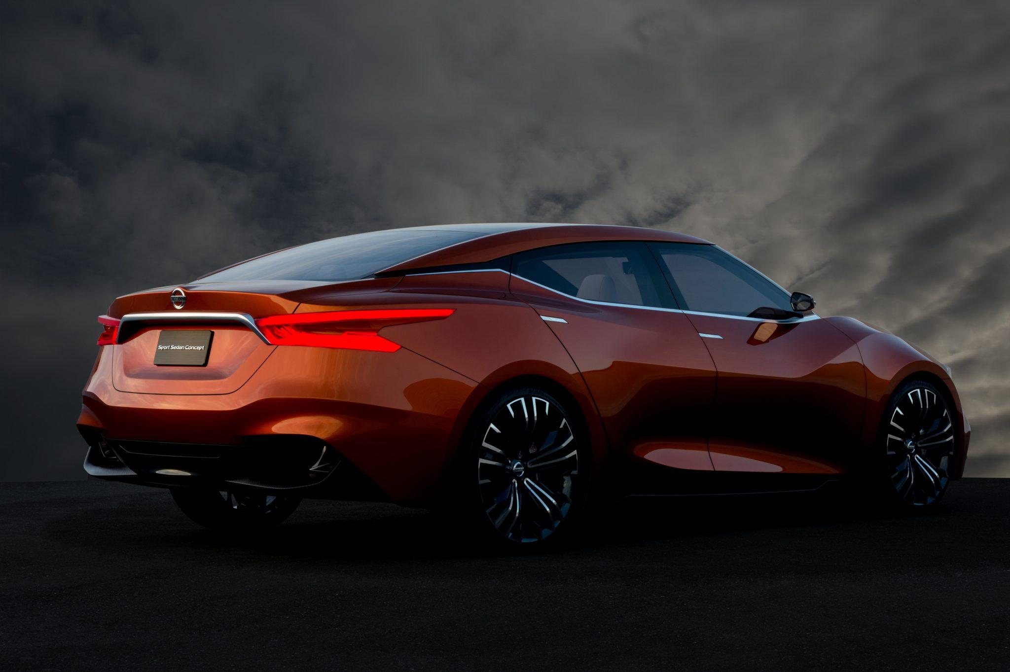 Nissan Sport Sedan Concept The Four Door Sports Car The