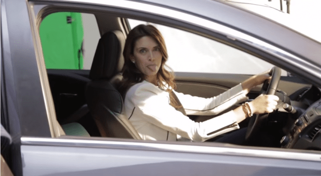 Who Is The Woman Singing In The Acura Car Commercial