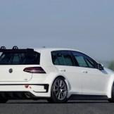 Volkswagen Golf TCR Race Car