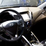 2016 Hyundai Veloster at Chicago Auto Show Interior