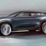 Audi e-tron quattro concept Frankfurt sketch