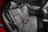 2016 Lexus CT Hybrid back seat interior