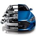 2017 Hyundai Elantra compact sedan design reveal frame