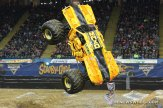 Monster Jam Show Max D truck freestyle performance scoring
