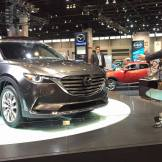 2016 Mazda CX-9 at 2016 Chicago Auto Show
