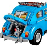 Blue VW Beetle Lego car set 10252 engine trunk