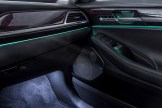 2017 Genesis G90 model overview under seat speakers
