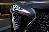 Lexus UX crossover concept 2016 Paris Auto Show headlight grille