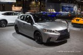 2016 Lexus CT 200h at Chicago Auto Show exterior