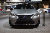 2016 Lexus CT 200h at Chicago Auto Show grille