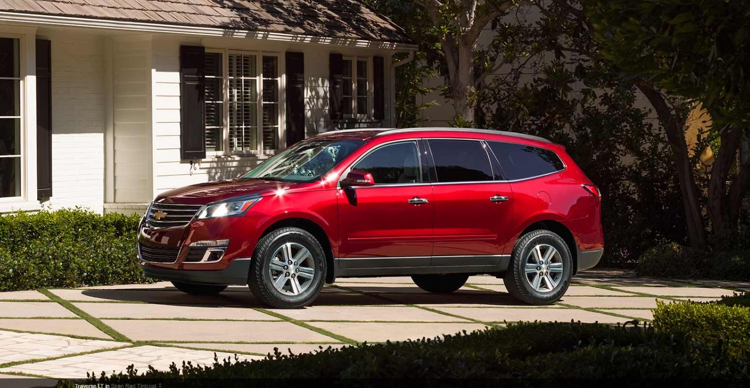 2017 Chevrolet Traverse Overview The News Wheel
