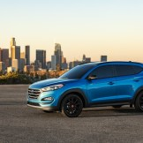 2017 Hyundai Tucson NIGHT model CUV special edition SEMA Show