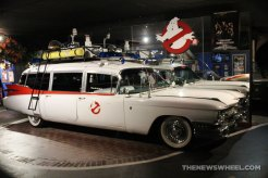 Hollywood Star Cars Museum Gatlinburg Attraction review information famous movie TV vehicles Ecto-1