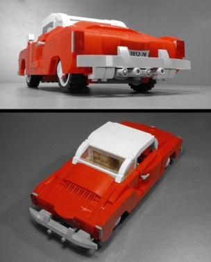 Volkswagen VW Karmann Ghia LEGO set classic car model Vibor Cavor submission