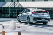 Hyundai Google BlueLink Voice Activated Connected Car Charging