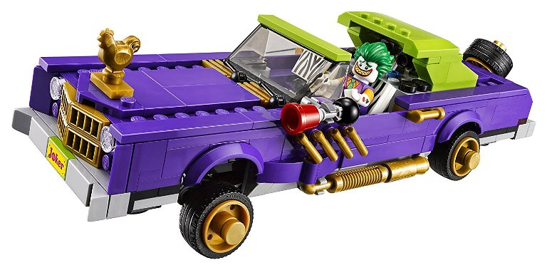 What The Villains Drive In The LEGO Batman Movie The