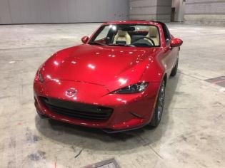 Mazda MX-5 RF at 2017 Chicago Auto Show