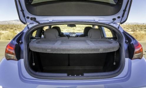 2019 Hyundai Veloster N performance division hatchback specs trunk cargo