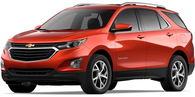2020 Chevrolet Equinox Cayenne Orange Metallic