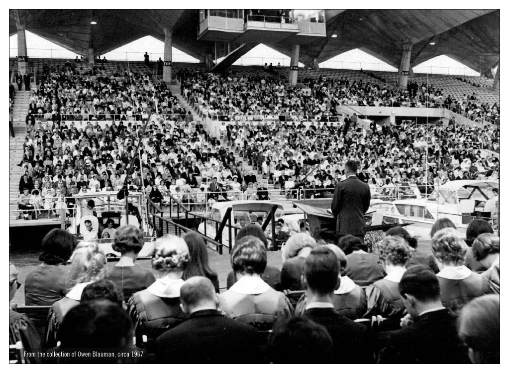Easter service at Miami Marine Stadium in 1967.