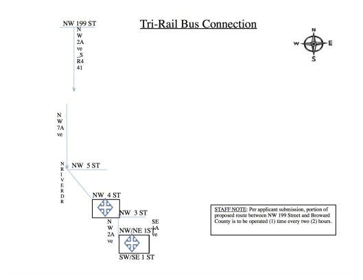 Tri-Rail Bus Connection