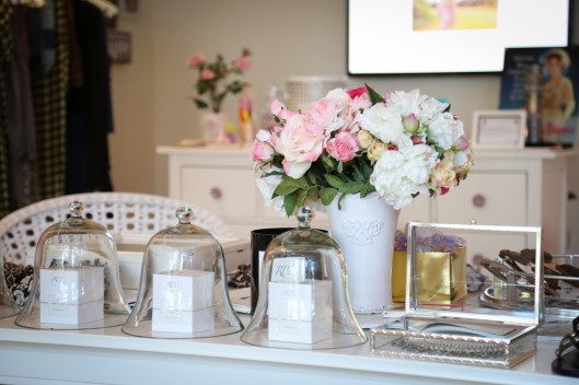 Valérie Engel's boutique is loaded with charm and elegance, making it a favorite with South of Fifth locals.