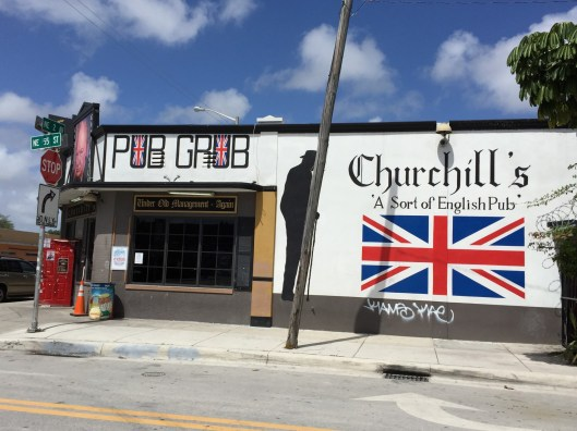 Churchill's is a Miami staple for music and late nights, but it's happy hour is a great time to meet curious locals.