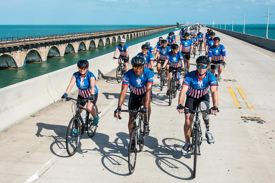 Wounded Warriors Project Miami Key West Ride