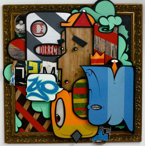 A piece from Alex Yanes welcomes visitors to the YO space. (Courtesy of YO Miami)
