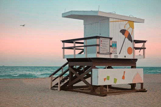 """18th Street: """"The contrast of the sky and the ocean are nice here, but the stand is a little less impressive."""" (Sean R. Sullivan, seanwashere.com)"""